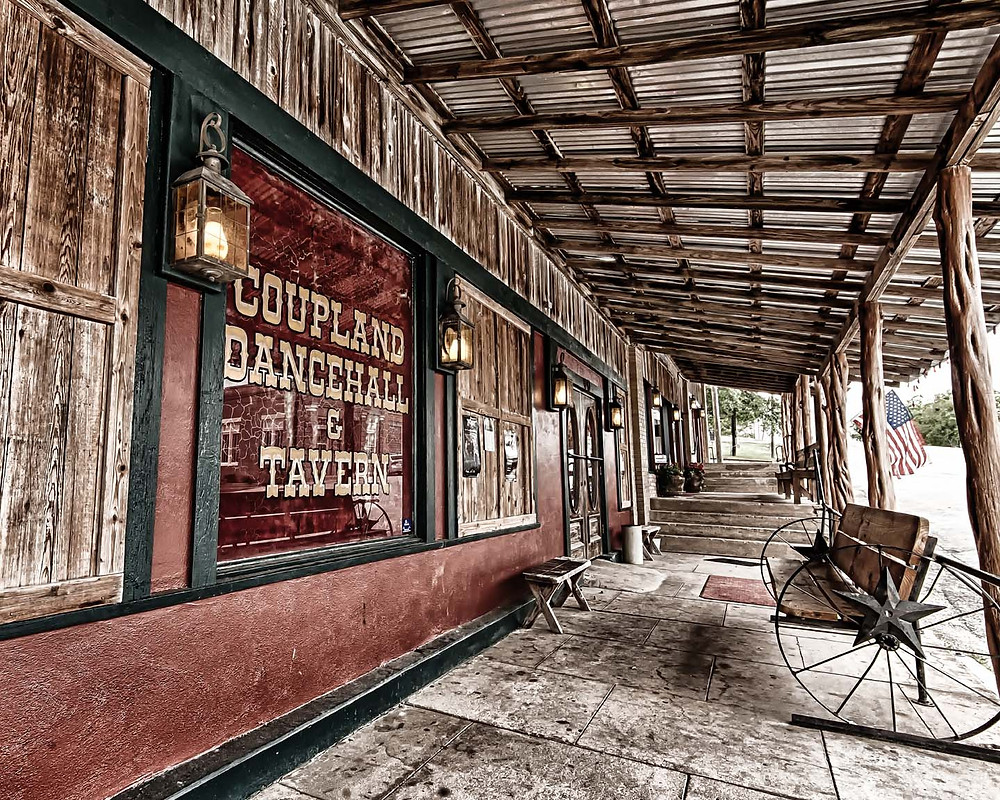 Coupland Texas dance hall