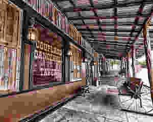Coupland Texas dance hall