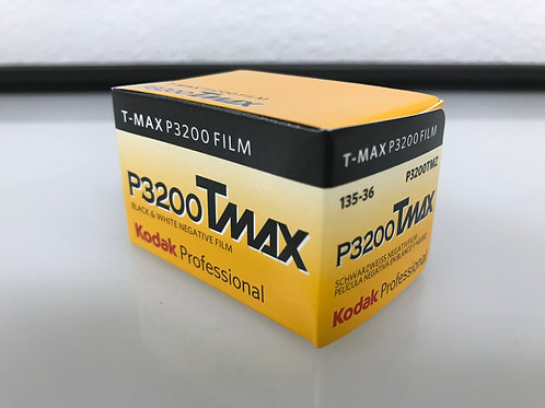 Kodak Professional T-Max P3200 Black and White Negative Film