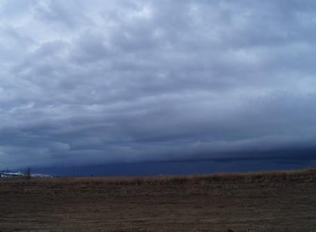 Early Season Shelf Cloud