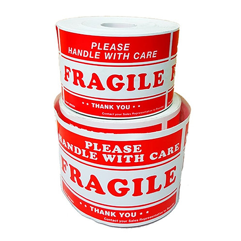 """Fragile"" Label Sticker"