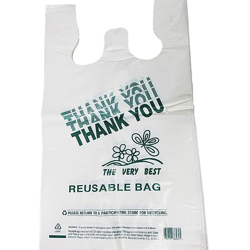 Reusable Plastic Bags (Retail Bags)