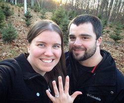 Engaged at Evergreen!
