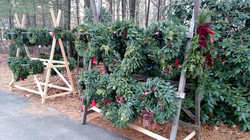 Finding the Perfect Wreaths!