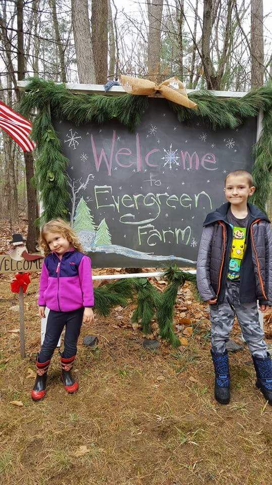 Evergreen Farm. So kid-friendly.