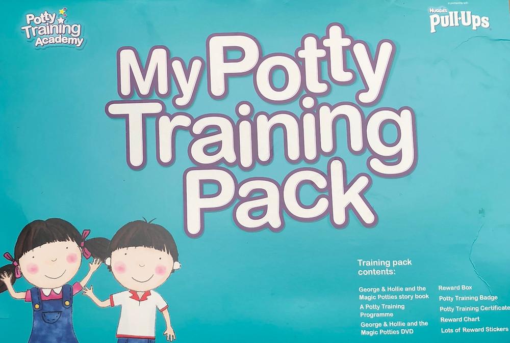 My potty training pack