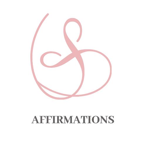 Printable Affirmation Cards