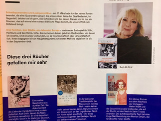 """Bestsellerautorin Carmen Korn empfiehlt """"Wo du nicht bist""""im aktuellen Thalia-Magazin!"""
