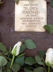 Ein Stolperstein für Erich Bragenheim