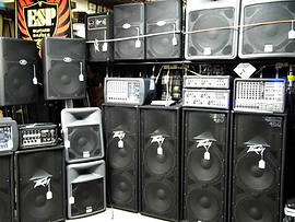 PA Speakers Oklahoma City Audio Equipment Pro Audio Sound Systems Peavey Dealer at Rawson Music OKC