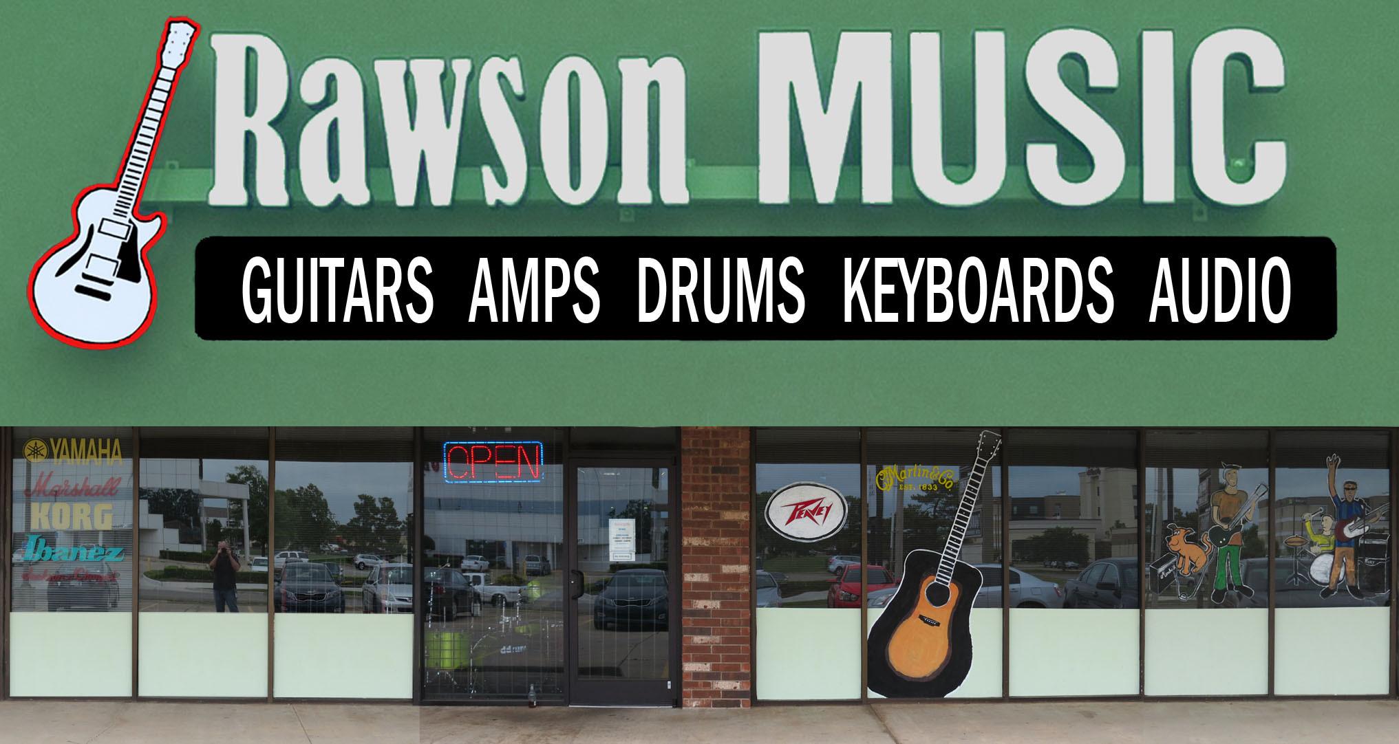 rawson music guitar store oklahoma city okc. Black Bedroom Furniture Sets. Home Design Ideas