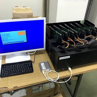 地方自治体HDDデータ消去_200本