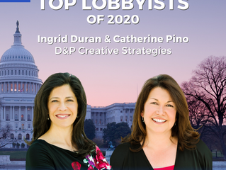 D&P Named The Hill's Top Lobbyists of 2020