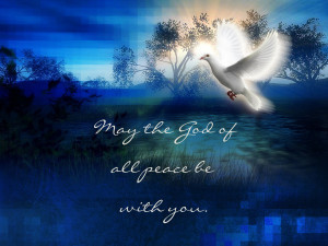 """""""The God of Peace"""""""