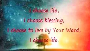 """I Choose Blessing!"""
