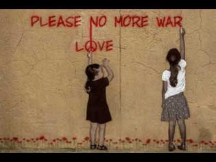 """""""God Among Us…No More War!"""""""
