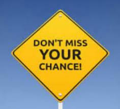 """""""Don't Miss Your Chance"""""""