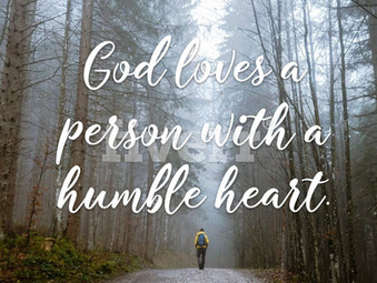 """""""Humble, After God's Heart"""""""