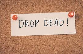 """Drop Dead"""