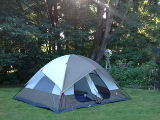 """""""Out There in a Tent"""""""