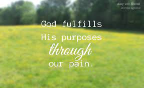 """""""Purpose in Your Pain"""""""