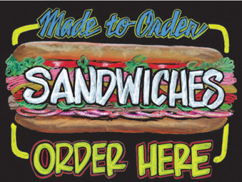"""""""Made-to-Order Sandwich"""""""