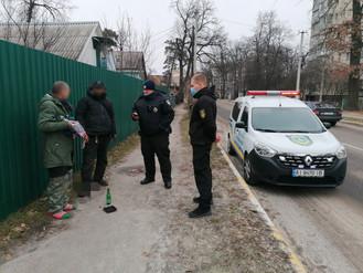 В Ірпені продовжуються спільні патрулювання муніципальної варти та поліції
