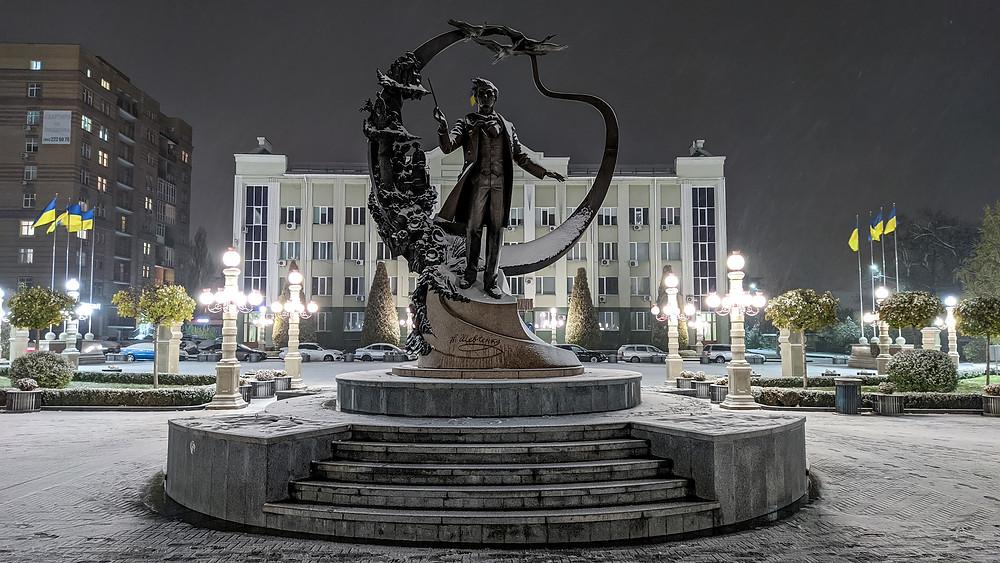 Серце Ірпеня – центральна площа та вулиця Шевченка