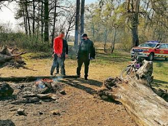 Ірпінські рятувальники та муніципальна варта провели профілактичний рейд у лісі