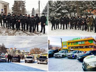 У Василькові представники громадських формувань та поліцейські провели спільне відпрацювання