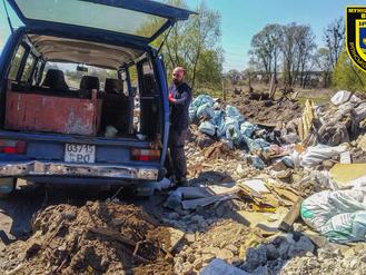 Продовжуємо знайомити громаду з організаторами стихійних сміттєзвалищ