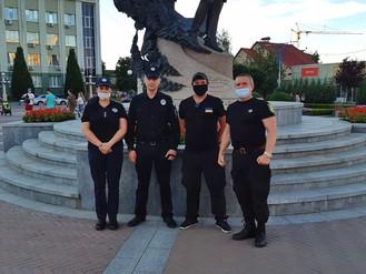 Поліція та муніципальна варта спільно забезпечують правопорядок та безпеку громадян