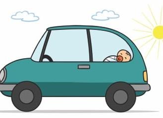 Закликаємо не залишати в автомобілі дітей і тварин під час спеки!