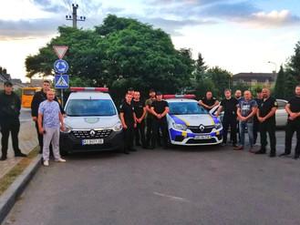 Ірпінська муніципальна варта прийняла участь у спільному заході із забезпечення громадського порядку