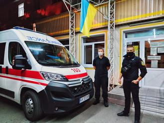 Чим займаються інспектори Муніципальної варти в Ірпінській центральній міській лікарні?