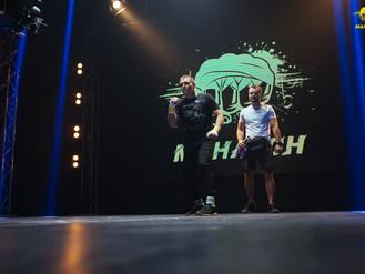 Співробітник Муніципальної варти Ірпеня знову переміг у поєдинку Ліги кулачних боїв «Mahatch»