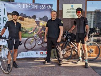 Ірпінь приймає учасників всеукраїнського веломарафону «Transukraїne – bikepacking race»