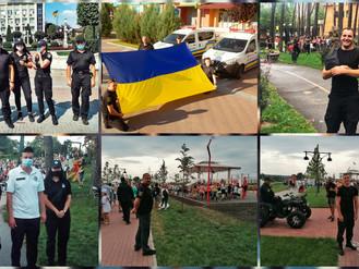 Муніципальна варта забезпечувала охорону публічної безпеки під час масових заходів 23 та 24 серпня