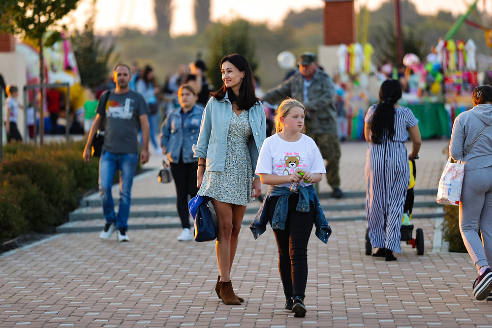 Сучасна Михайлівка-Рубежівка – затишне, чисте, дуже красиве село, де живуть щирі та усміхнені люди.