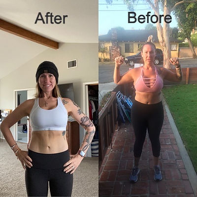 weight loss transformation in south bay