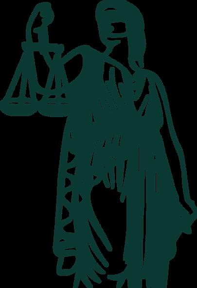 Öz Avukatlık Bürosunun Themis Heykeli