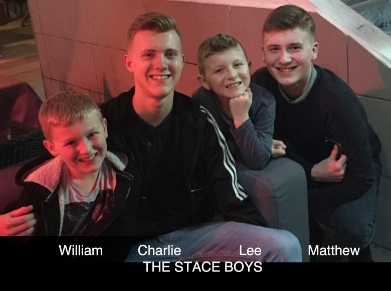 The Stace boys