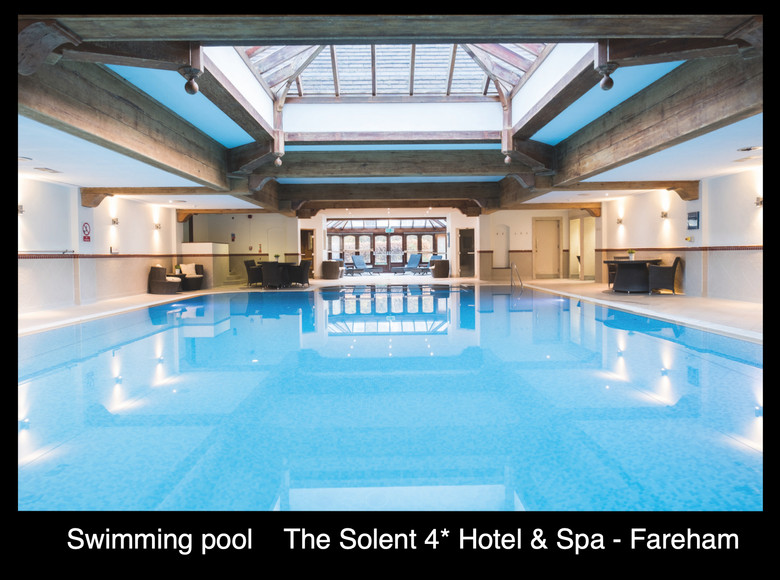 The swimming pool at The Solent Hotel & Spa