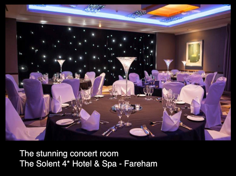 The stunning concert room at the Solent Hotel