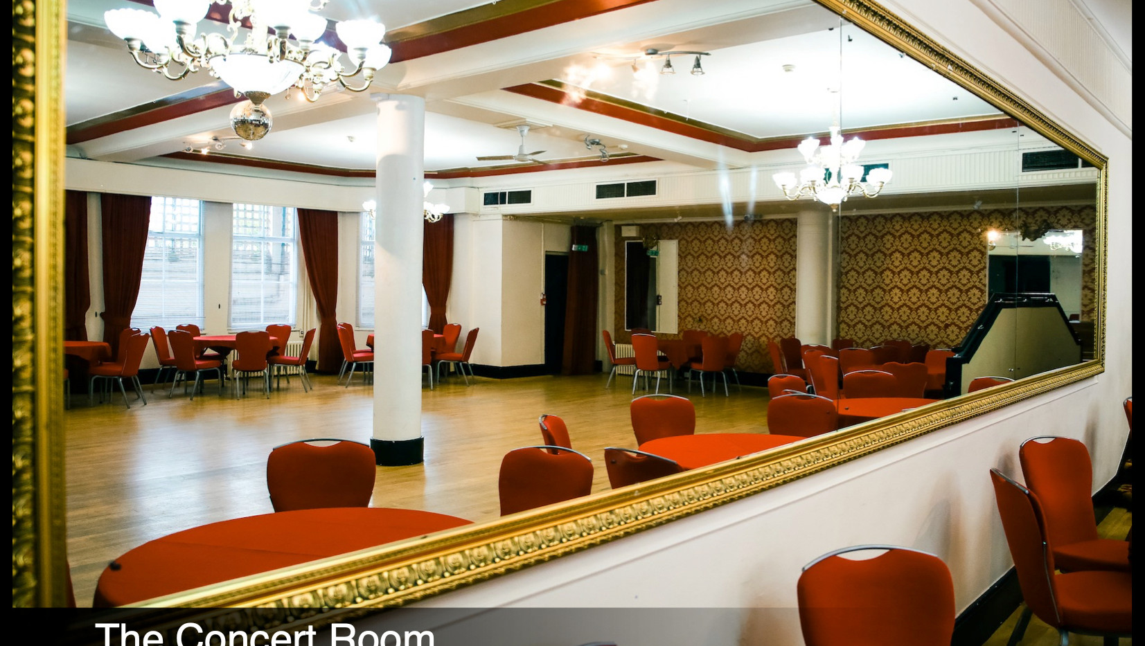 The concert room - EASTBOURNE