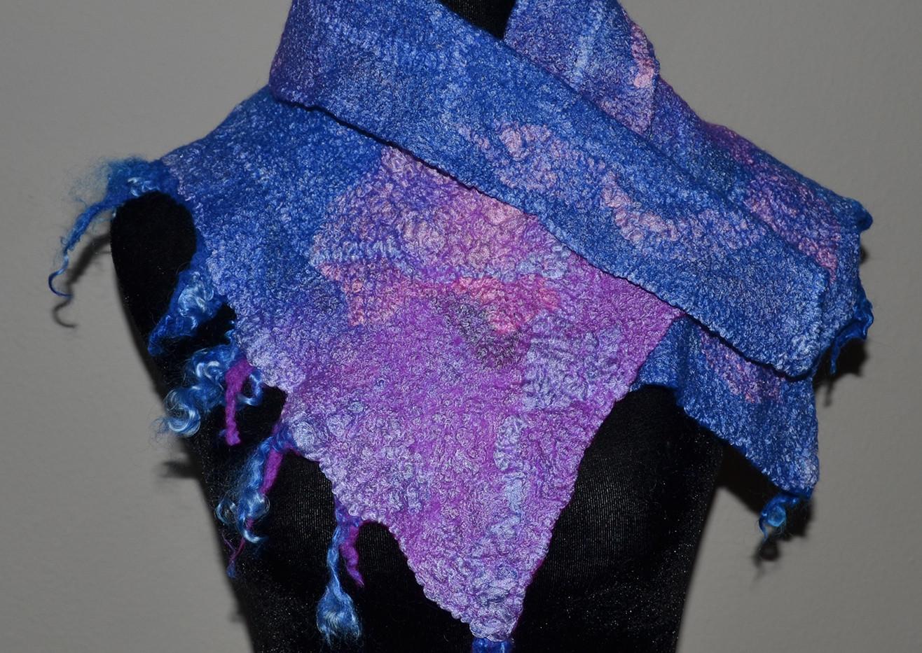 Purple Neckpiece