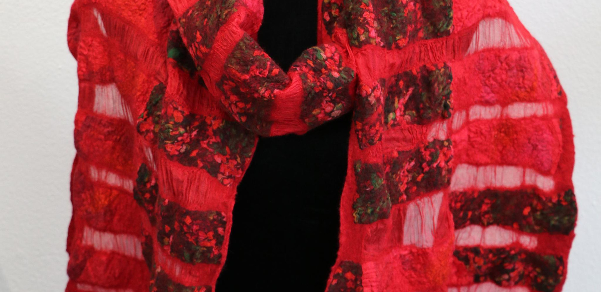 Red Flower Stripes