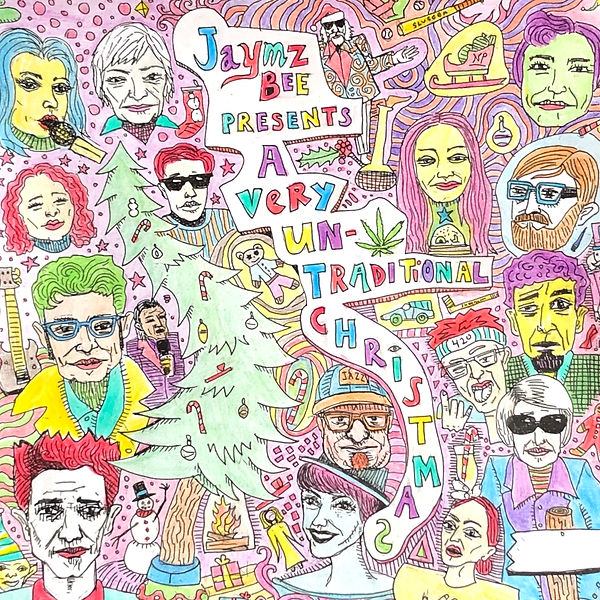 A Very Untraditional Christmas from Jaymz Bee digital cover.JPG