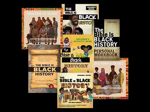 The Bible is Black History Bundle