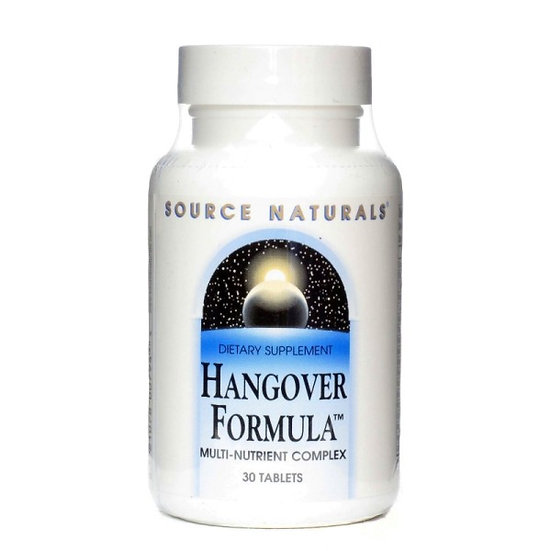 Hangover Formula